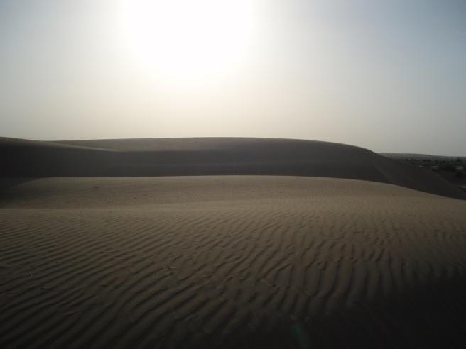 Le désert... d'Inde